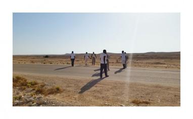 נורדין מוסא, Waiting#5, חולות, 2014_40_2