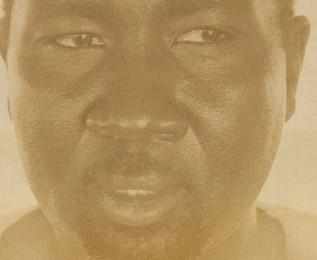 Nuraldin Musa, a Darfuri artist and asylum-seeker.